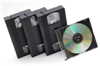 copy vhs to dvd