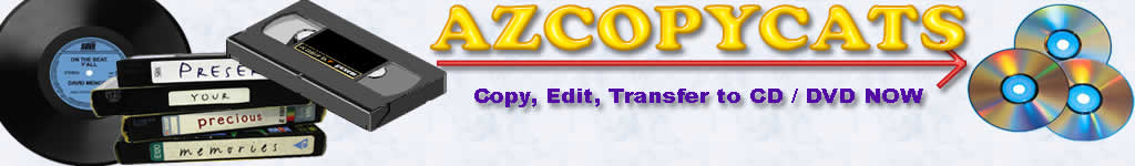 azcopycats video, records, audio editing transfers and copies